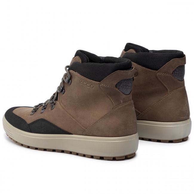 fa9718b8 Boots ECCO - Soft 7 Tred M GORE-TEX 45026450597 Black/Navajo Brown