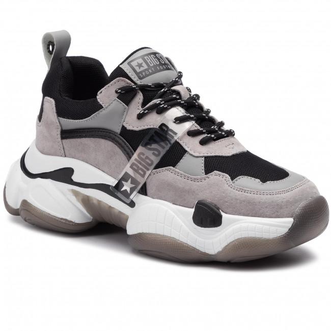 Sneakers BIG STAR - FF274427 Black/Grey
