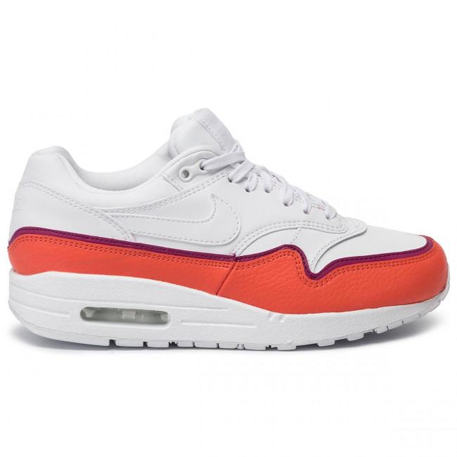 Schuhe NIKE Air Max 1 Se 881101 102 WhiteWhite Team Organe