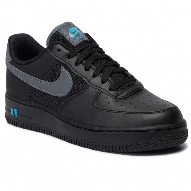 Shoes NIKE Air Force 1 '07 Lv8 BV1278 001 BlackCool GreyBlue Fury
