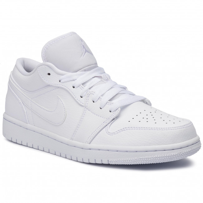best service eeb7e e2b6e Shoes NIKE - Air Jordan 1 Low 553558 112 White/White/White