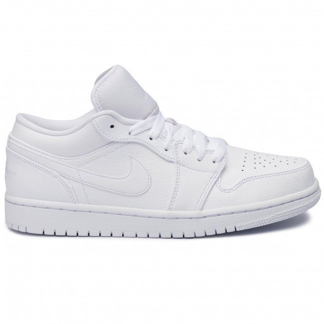 free delivery outlet online uk availability Shoes NIKE - Air Jordan 1 Low 553558 112 White/White/White