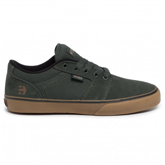 Etnies Barge LS Green//Gum Shoe