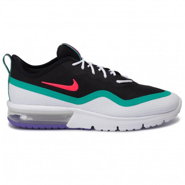 świetne dopasowanie sprzedaż strona internetowa ze zniżką Shoes NIKE - Air Max Sequent 4.5 BQ8822 600 Red Orbit/White/Kinetic Green