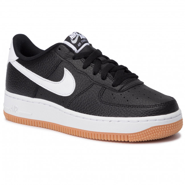 Shoes NIKE Air Force 1 2 (Gs) CI1759 001 BlackWhiteWolf Grey