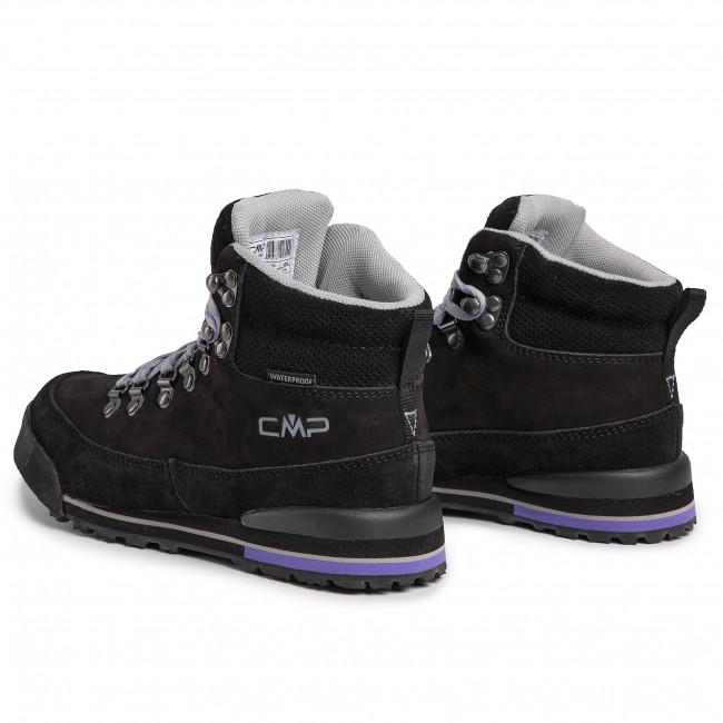 Trekker Boots CMP Heka Wmn Hiking Shoes Wp 3Q49556 Nero U901