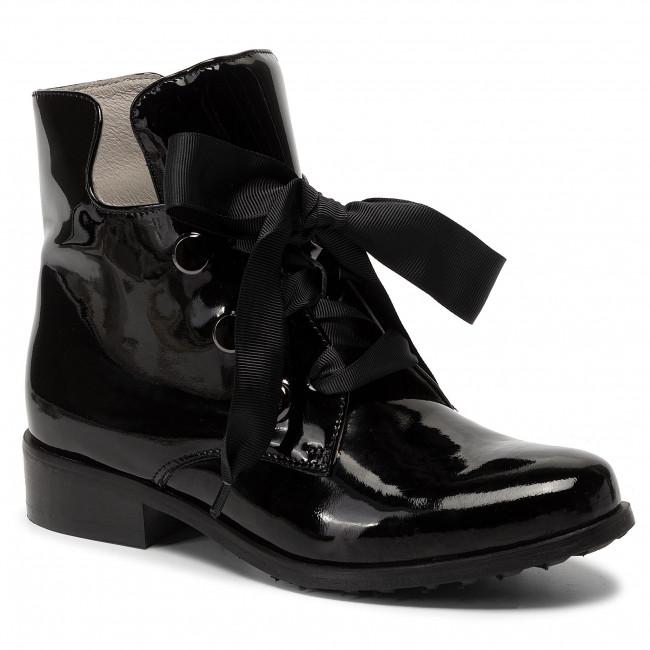 Boots EKSBUT - 78-5182-121/0PN-1G Czarny Lakier