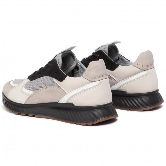 Sneakers ECCO St.1 W 83627351560 Moon RockWhiteGravelBlack