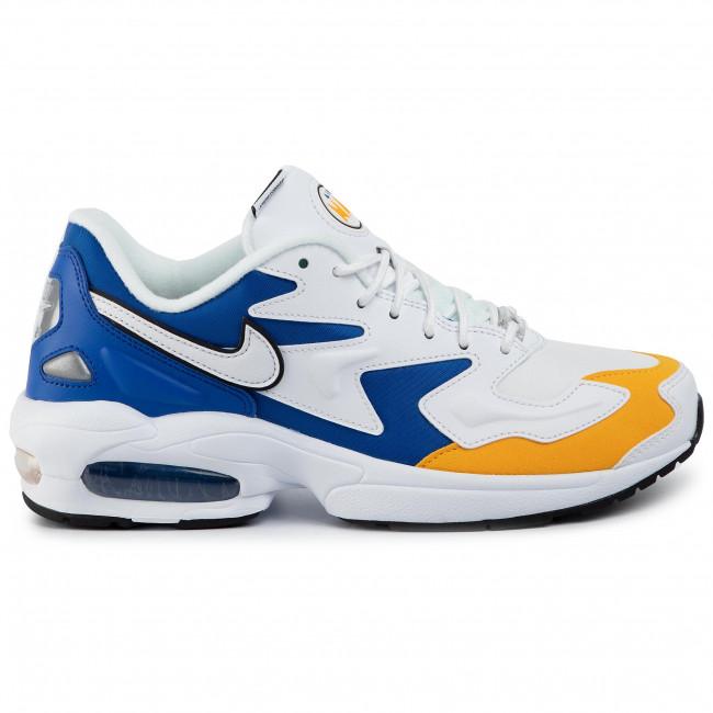 Shoes NIKE Air Max2 Light Prm BV0987 102 WhiteWhiteUniversity Gold