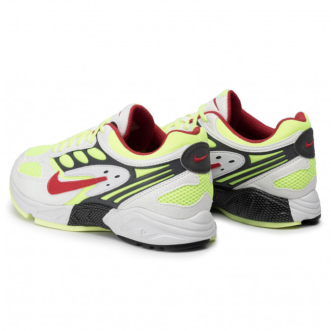Shoes NIKE Air Ghost Racer AT5410 100 WhiteAtom RedNeon Yellow