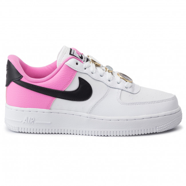 2020 Nike Wmns Air Force 1 '07 SE WhiteBlack China Rose AA0287 107
