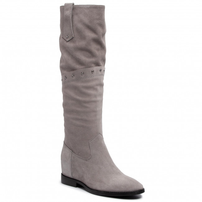 Knee High Boots NESSI - 19601 Grey