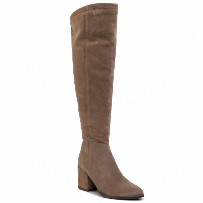 Over-Knee Boots NESSI - 19657 Beż W1