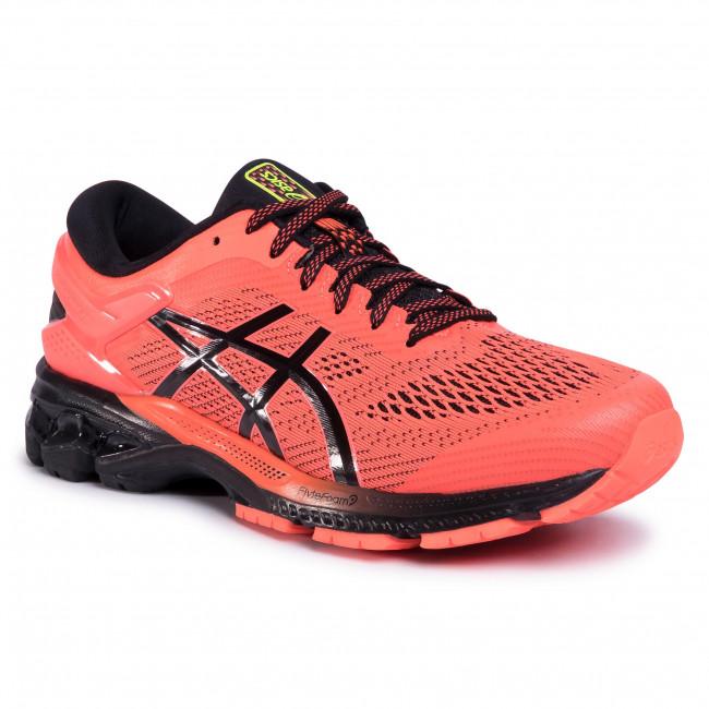 Shoes ASICS Gel Kayano 26 1011A541 Flash CoralBlack 700