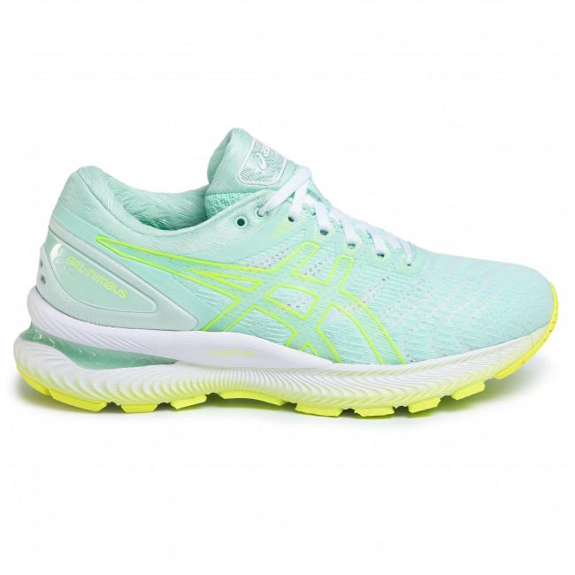 Shoes ASICS Gel Nimbus 22 1012A663 Mint TintSafety Yellow