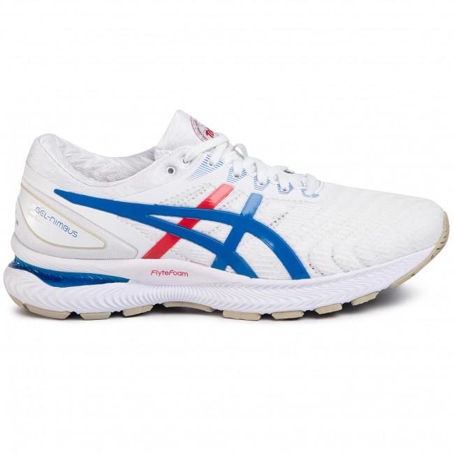 Shoes ASICS Gel Nimbus 22 1011A780 WhiteElectric Blue 100