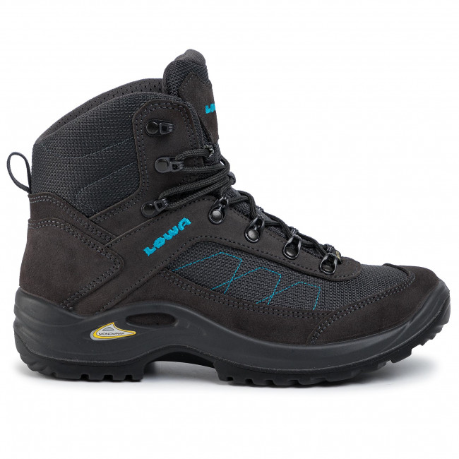 Trekker Boots LOWA Taurus II Gtx Mid Ws GORE TEX 320526 Anthracite 0937