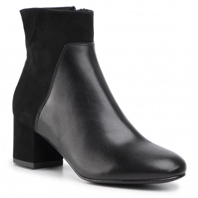 Boots SAGAN - 3870  Czarny Lico Welur