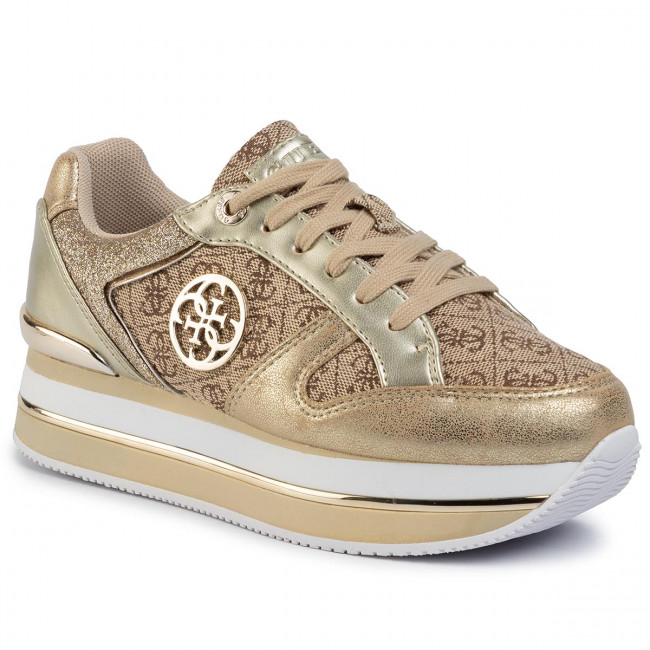 Sneakers GUESS Dealy FL5DLY FAL12 BEIGEBROWN