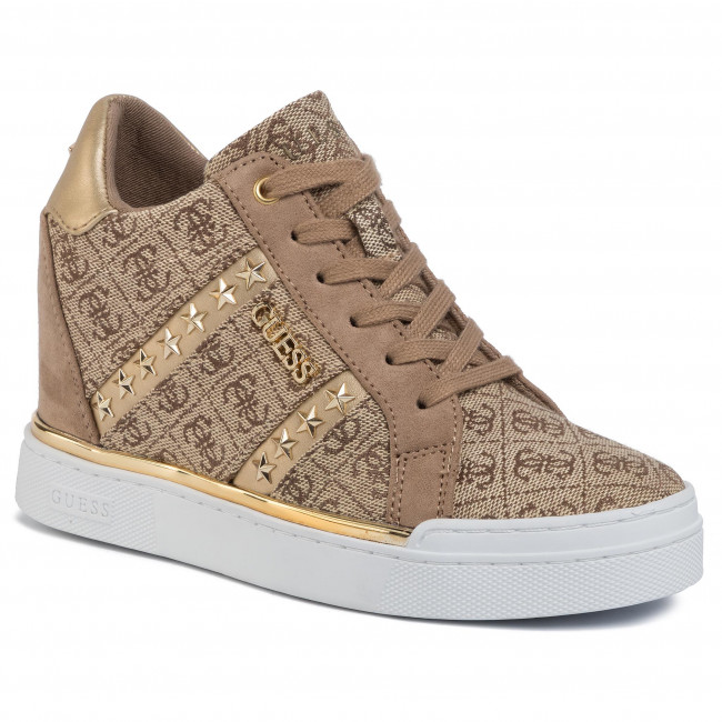 Sneakers GUESS Fayne2 FL5FY2 FAL12 BEIGEBROWN