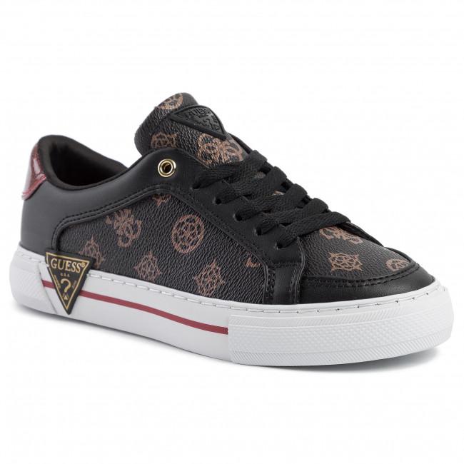 Sneakers GUESS - Gransin FL5GRA FAL12 BROWN/RED