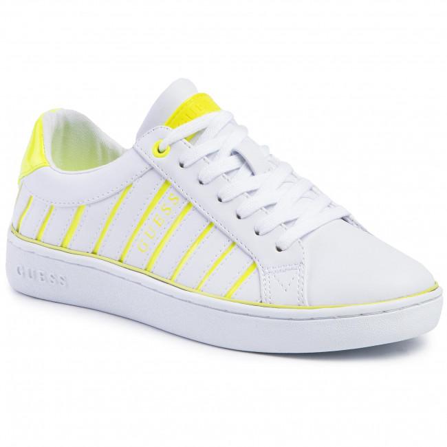 Sneakers GUESS - Bolier FL5BOL ELE12 WHITE/YELLOW