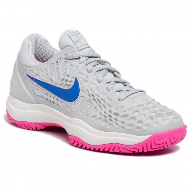 Shoes NIKE Air Zoom Cage 3 Hc 918199 003 Pure PlatinumRacer Blue