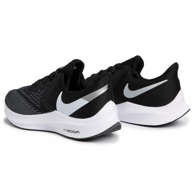 Shoes NIKE Zoom Winflo 6 AQ7497 001 BlackWhiteDark Grey
