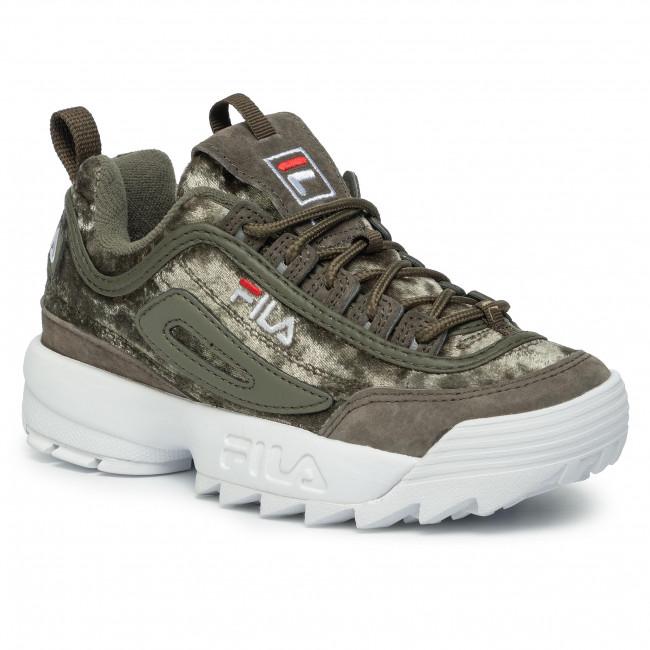 Sneakers FILA - Disruptor V Low Wmn Cr 1010555.50I Olive Night