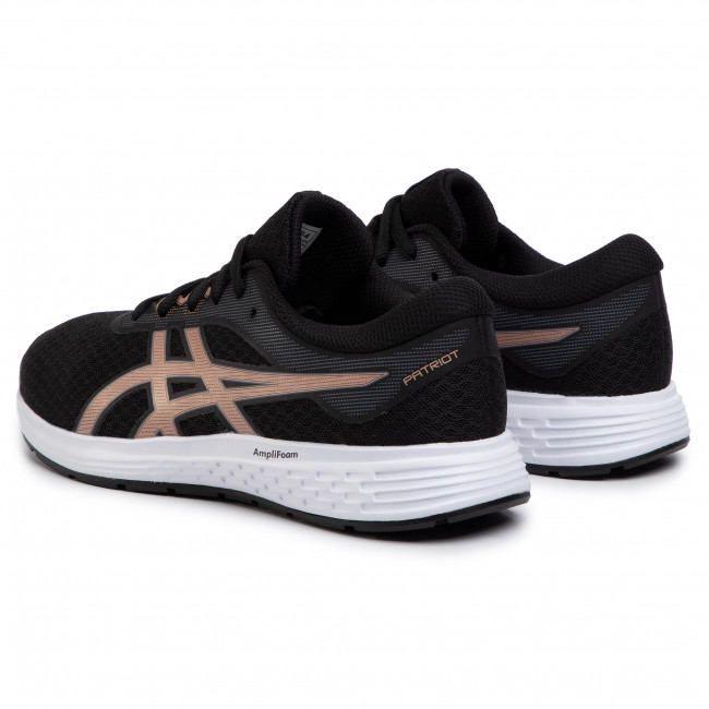 Dedos de los pies crítico Cosquillas  Shoes ASICS - Patriot 11 1012A484 Black/Rose Gold 003 - Indoor - Running  shoes - Sports shoes - Women's shoes | efootwear.eu