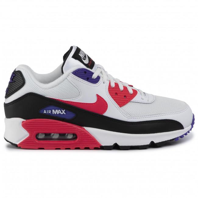 Shoes NIKE Air Max 90 Essential AJ1285 106 WhiteRed OrbitPsychic Purple