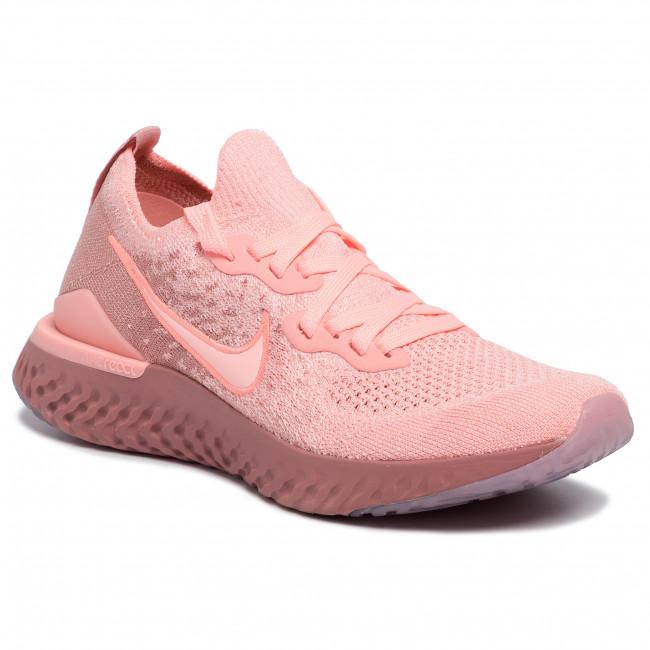 Shoes NIKE Epic React Flyknit 2 BQ8927 600 Pink TintPink TintRust Pink