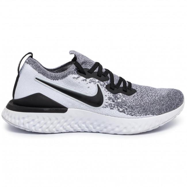 Shoes NIKE Epic React Flyknit 2 BQ8928 101 WhiteBlackPure Platinum