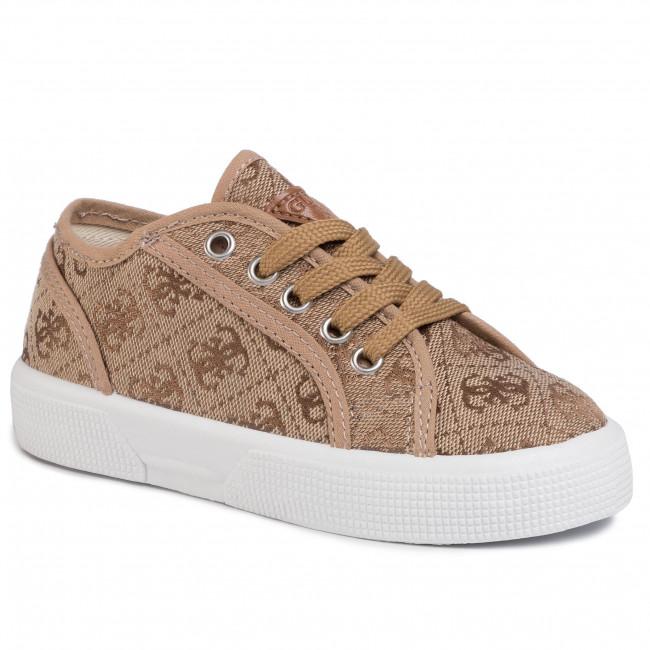 phone Sinewi Decimal  Sneakers GUESS - Piuma FI6PIU FAL12 BEI - Laced shoes - Low shoes - Girl -  Kids' shoes   efootwear.eu