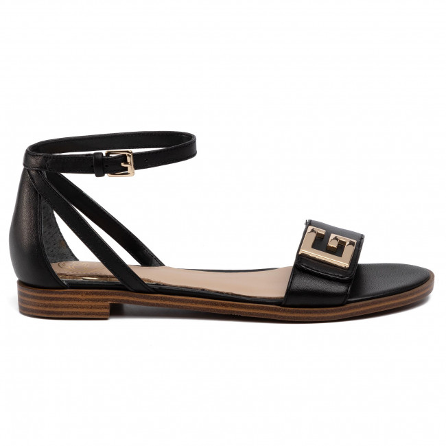 Sandals GUESS Rashida FL6AIA LEA03 BLACK