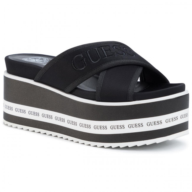 Slides GUESS Remina FL6REM ELE19 BLACK