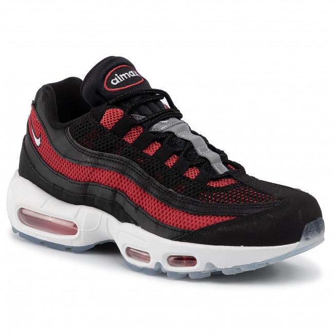 Shoes NIKE Air Max 95 Essential 749766 039 BlackWhiteUniversity Red