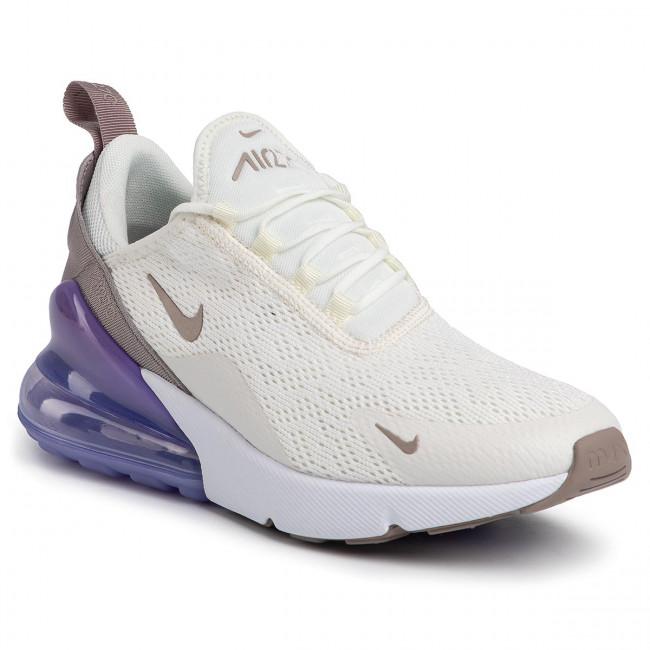 Shoes NIKE Air Max 270 AH6789 107 SailPumiceSpace purple White
