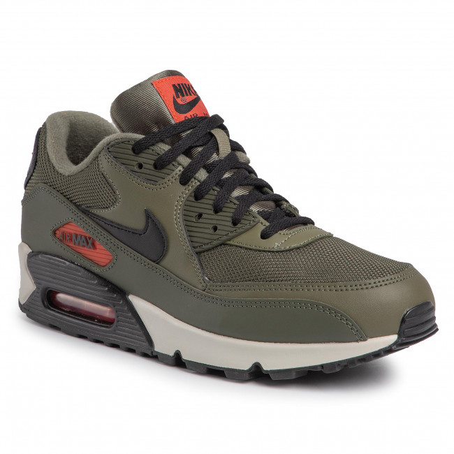 Nike : Nike Air Max 90 Essential Shoes Men Grey,ANA