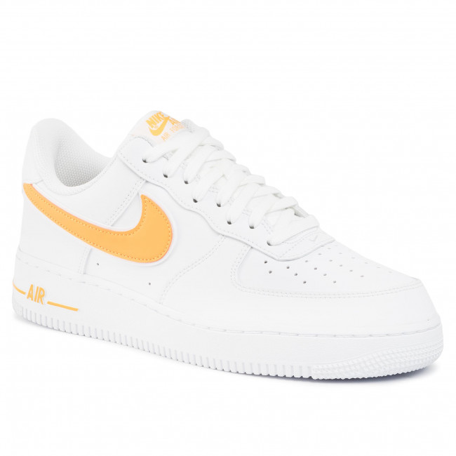 Shoes NIKE Air Force 1'07 3 AO2423 105 WhiteUniversity Gold