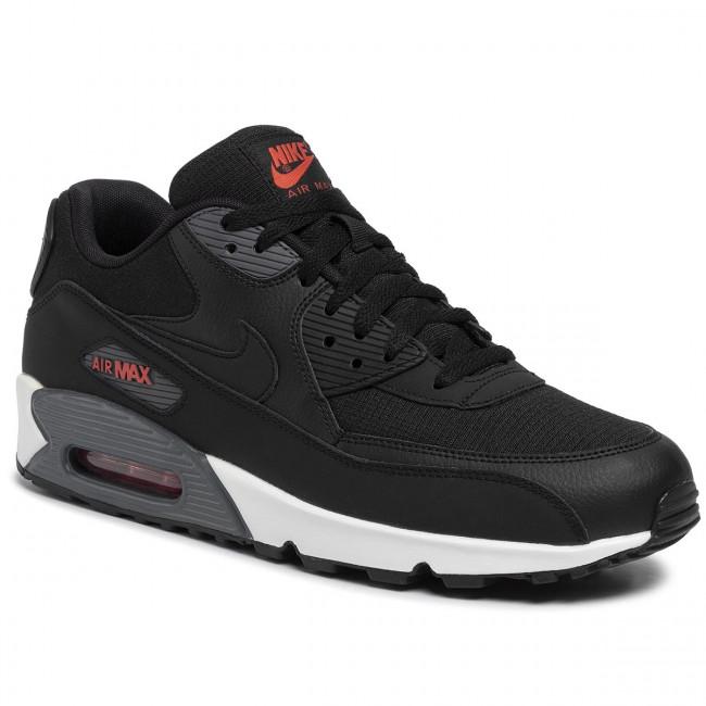Shoes NIKE Air Max 90 Se CD1526 001 BlackBlackHabanero Red