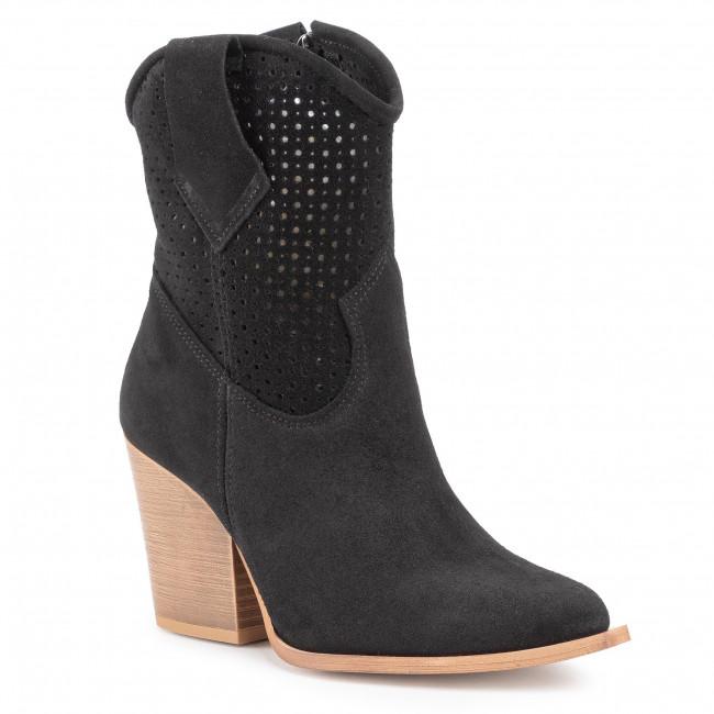 Boots ROBERTO - 2829 Czarny Welur