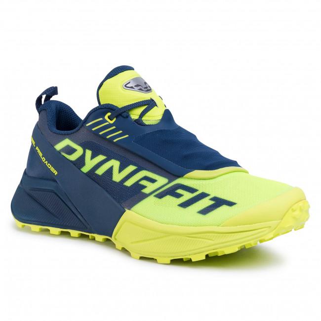 Shoes DYNAFIT - Ultra 100 64051 Poseidon/Fluo Yellow 8968