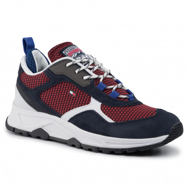Sneakers TOMMY HILFIGER Fashion Mix Sneaker FM0FM02582 Desert Sky DW5
