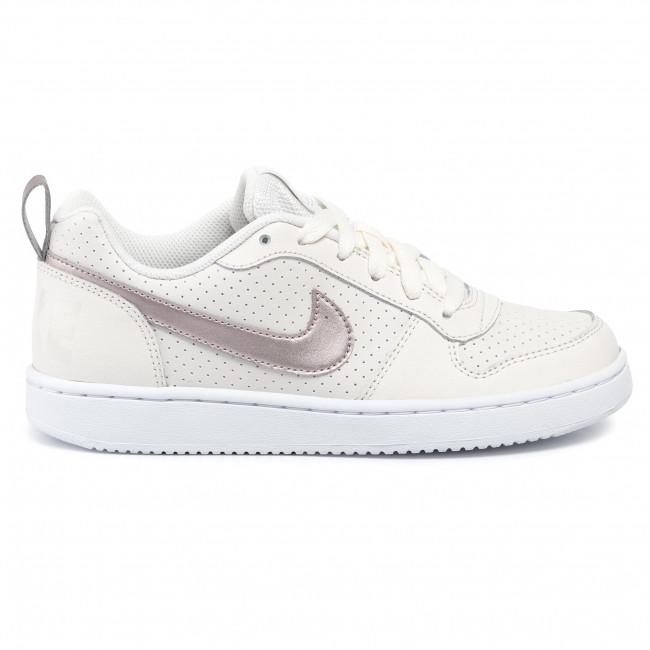 Shoes NIKE Court Borough Low (GS) 845104 007 PhantomMtlc Red BronzeWhite