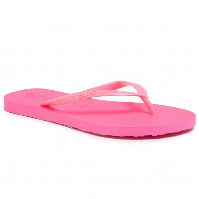 Bnwt L Womens Flip Flops Super Sleek Superdry Uk Size 7-8
