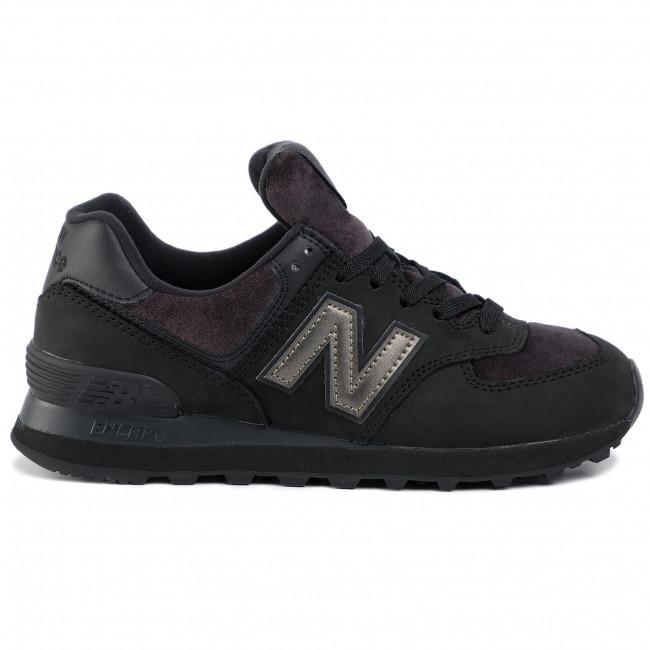 sprzedaż online szybka dostawa bliżej na Sneakers NEW BALANCE - WL574LDG Black