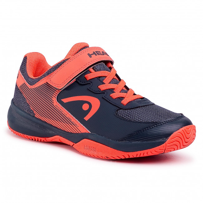 Shoes HEAD - Sprint Velcro 3.0 275400 Midnight Navy/Neon Red 030