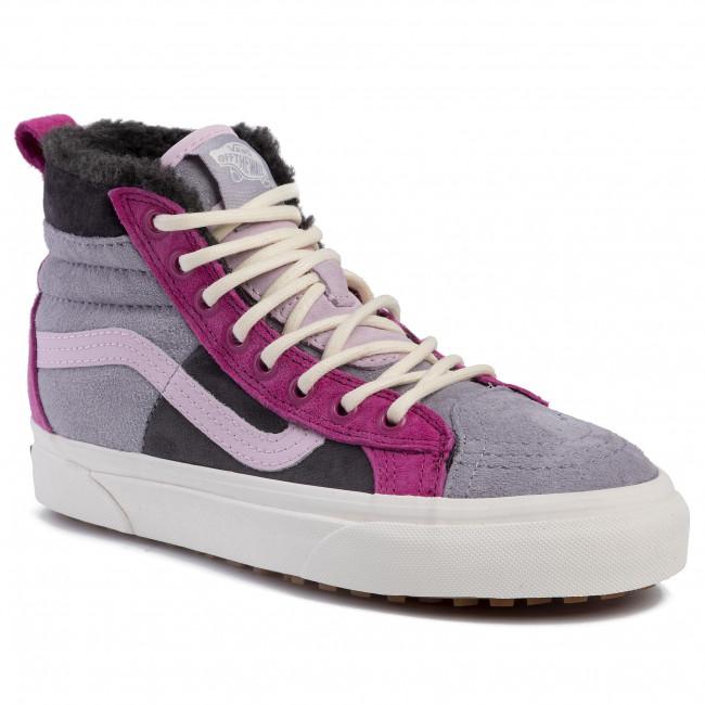 Vans Shoes Sk8 Hi 46 MTE DX Lilac GreyObsidian