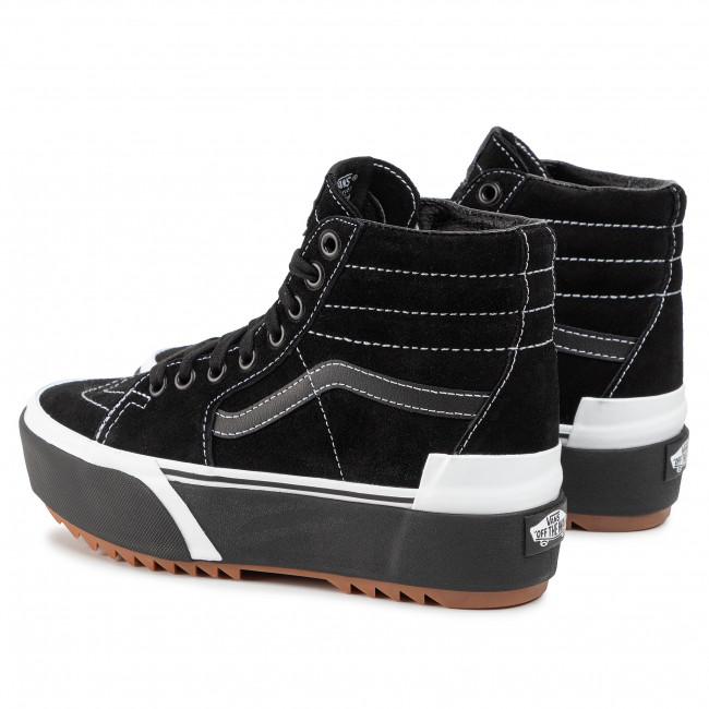Sneakers VANS Sk8 Hi Stacked VN0A4BTWLF91 (Suede) BlackGum